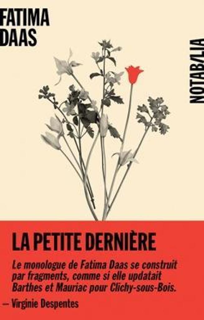 La petite dernière : roman / Fatima Daas   Daas, Fatima (1995-....). Auteur